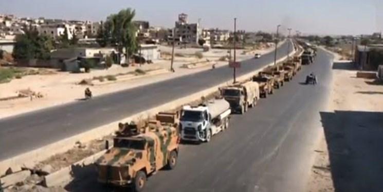 کاروان کمک رسانی ترکیه برای النصره، هدف حملات هشدارآمیز هوایی قرار گرفت