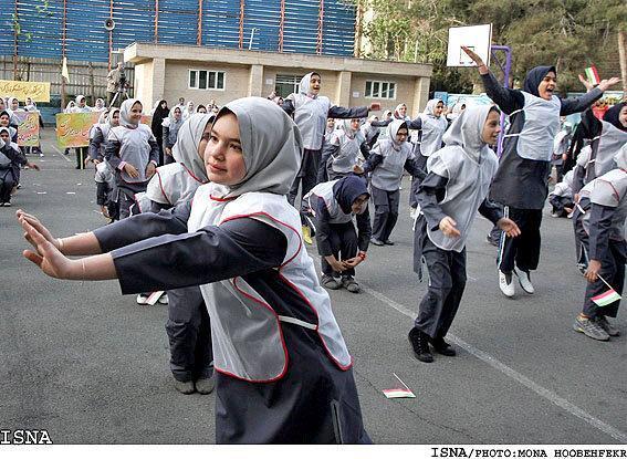 تحویل 180 کلاس تربیت بدنی دخترانه تا انتها سال تحصیلی