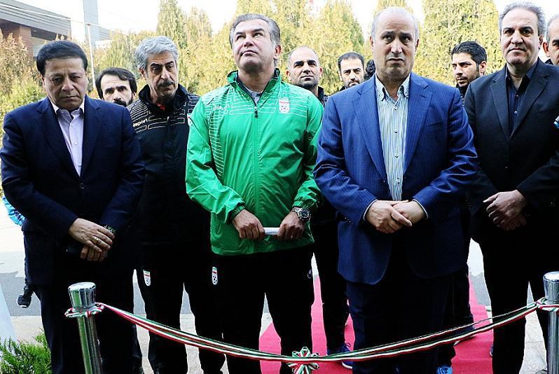 افتتاح مرکز تجهیزات ورزشی (T.E.C) در مرکز ملی فوتبال