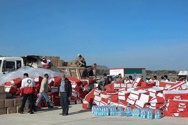 ارسال یاری های امدادی به خوزستان