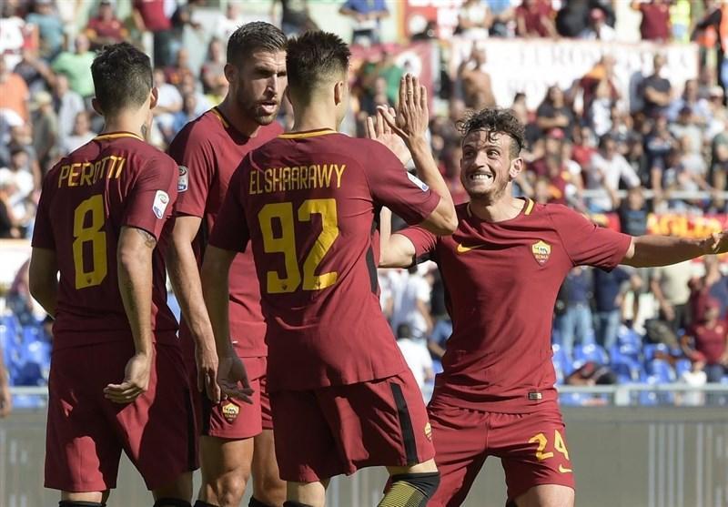 پیروزی آسان رم در بازی خانگی مقابل اودینزه