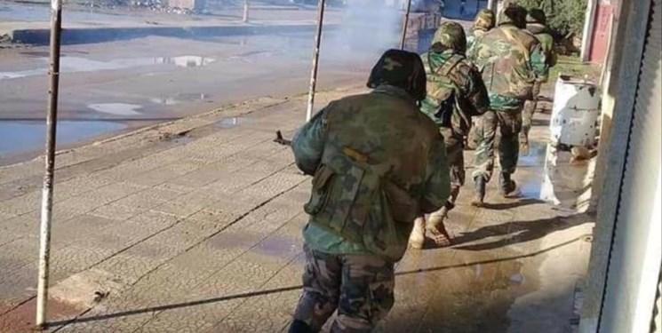 جنوب سوریه ، ارتش کنترل کامل الصنمین درعا را به دست گرفت