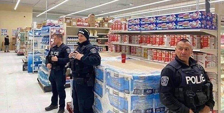 عکسی که روحانی درباره پلیس آمریکا به آن اشاره کرد فتوشاپ بود؟ ، واقعیت را ببینید