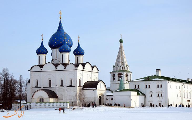 شهرهای کوچک با مناظر فوق العاده در روسیه